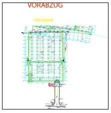 CAD-Pläne Tiefgarage