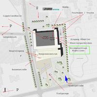 Lageplan Lipperlandhalle